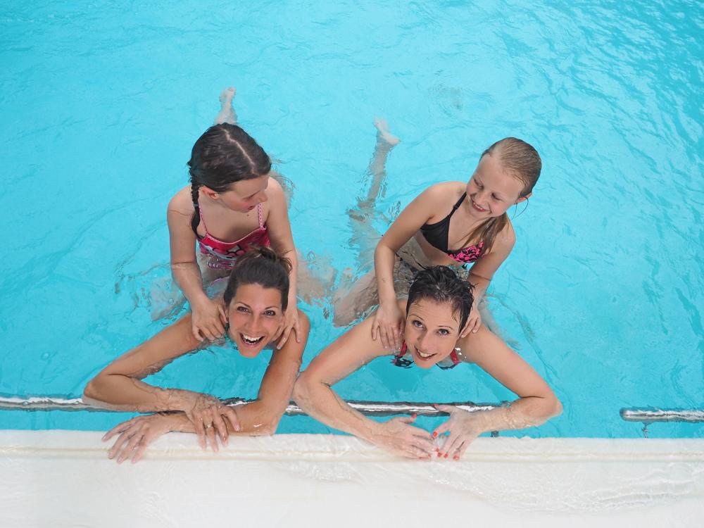 Badespaß für Mutter und Kind in der OstseeTherme Usedom im Seebad Ahlbeck