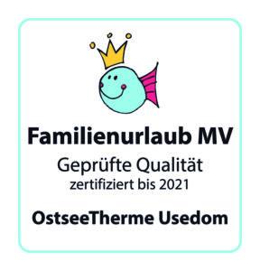 Zertifikat Familienfreundlichkeit OstseeTherme Usedom