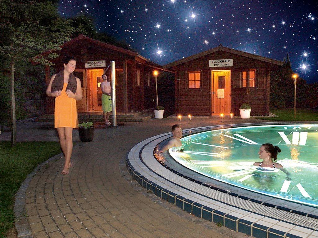 Mitternachtssauna Zeitreise in der OstseeTherme Usedom